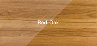1290 Janka rating. Pink to light red hues. Constant grain patterns provide an excellent character for staining the oak to a darker colour.